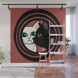 Cool cats Wall Mural