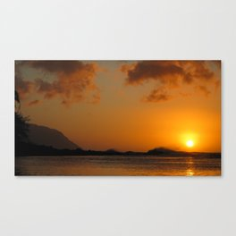 Sunset at Tunnels Canvas Print