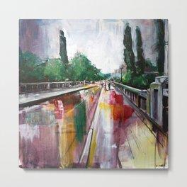 Crossing that bridge Metal Print