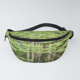 Lily Pond Reflections Fanny Pack
