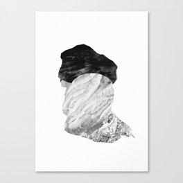 abstract portrait 4 Canvas Print
