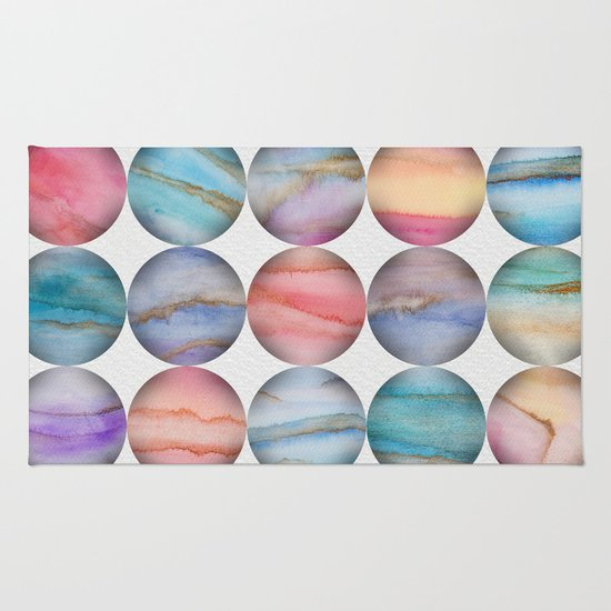 Marble Bubbles Rug
