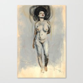 AFRO-FUSION Canvas Print