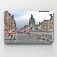 edinburgh iPad Cases featuring Edinburgh by Christine Workman