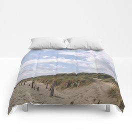 Sunbeams on the Beach Comforters