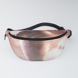 Funny Cute Cat Playing Violin Fanny Pack