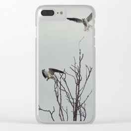 Milano blanco Clear iPhone Case