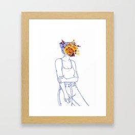 Wallflower (III) Framed Art Print