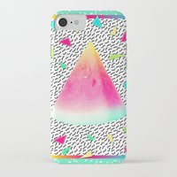 watermelon iPhone & iPod Cases featuring Watermelon by Danny Ivan