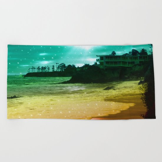 Counting stars ii Beach Towel