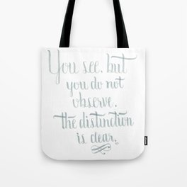 Observation Tote Bag