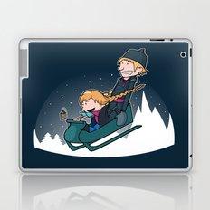 A Snowy Ride Laptop & iPad Skin
