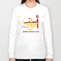 arsenal Long Sleeve T-shirts featuring Arsenal by Sport_Designs
