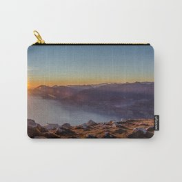 Mountains of Lake Garda Carry-All Pouch