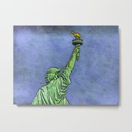 Lady Liberty #3 Metal Print