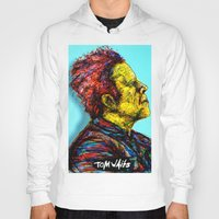 tom waits Hoodies featuring Tom Waits by Alec Goss