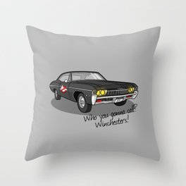 Ghosthunters Throw Pillow
