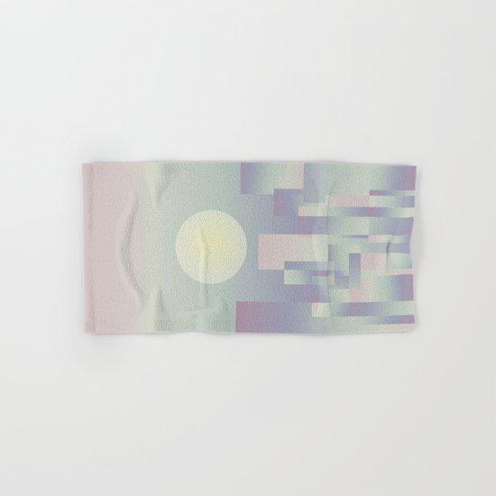 Opalescent dawning Hand & Bath Towel