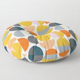 Moon Modern Art Floor Pillow