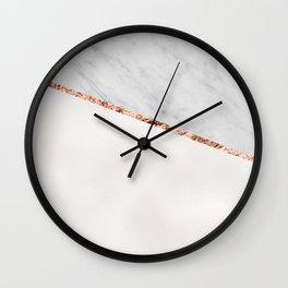 Park Avenue pearl marble Wall Clock