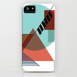 Bauhaus Kandinsky Modern Art iPhone Case