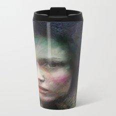 Girl of October Metal Travel Mug