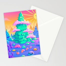 Blob Valley Stationery Cards