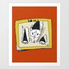 PSYCHO-Soma Art Print