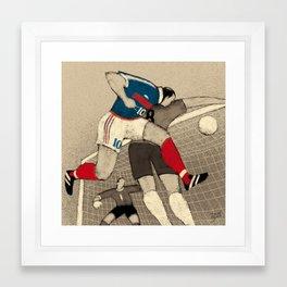 History of FIFA World Cup - France 1998 Framed Art Print