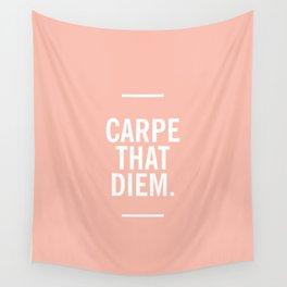 Carpe That Diem Wall Tapestry