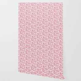Candy cane flower pattern 5 Wallpaper