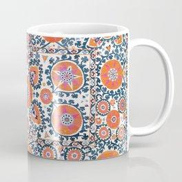 Shakhrisyabz  Suzani  Antique Uzbekistan Coffee Mug