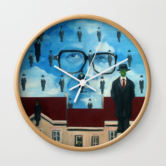 John Rawls Wall Clock