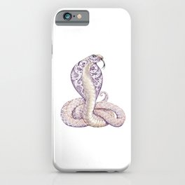 Cobra Snake Tattoo iPhone Case