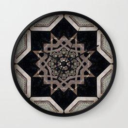 Modern Decorative Pattern Star Mandala Wall Clock