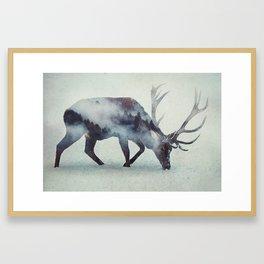 Lone Deere Framed Art Print