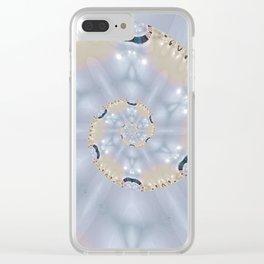 Light spirale Clear iPhone Case
