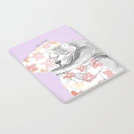 Would you be my sleepy bear? #3 Notebook