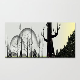 Forest of Dots Canvas Print
