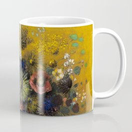 "Odilon Redon ""Bouquet of flowers"" (3) Coffee Mug"