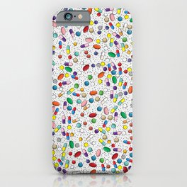 Medical Capsule Pharmacology Design iPhone Case