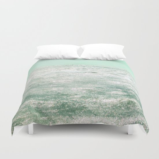 The Shining Sea Duvet Cover
