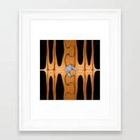 copper Framed Art Prints featuring copper by Maureen Popdan
