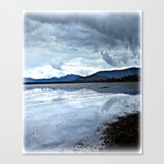 Shallow Lake Canvas Print
