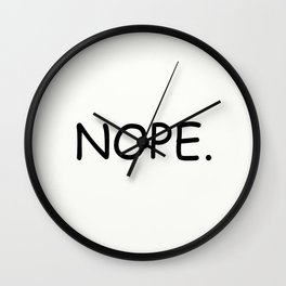 Nope. Wall Clock