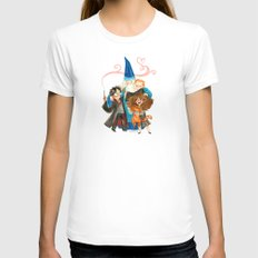 Harry Potter Hug White X-LARGE Womens Fitted Tee