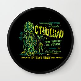 Cthuluau Wall Clock