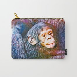 Cute Chimpanzee Baby Carry-All Pouch