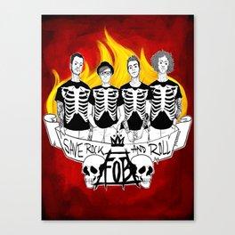 Saving  RnR Canvas Print