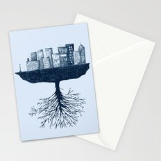 The World Against the World Stationery Cards